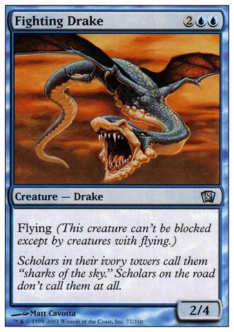Fighting Drake