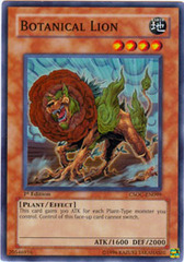 Botanical Lion - CSOC-EN099 - Super Rare - 1st Edition on Channel Fireball