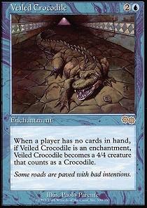Veiled Crocodile