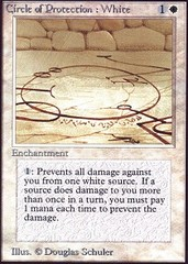 Circle of Protection: White on Channel Fireball