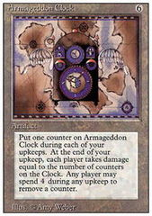Armageddon Clock on Channel Fireball