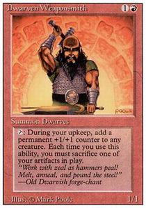 Dwarven Weaponsmith