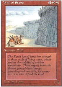 MURO DI PIETRA WALL OF STONE Magic 8ED Mint
