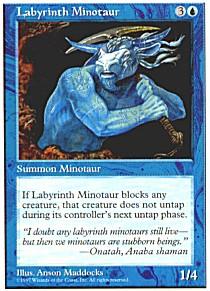 Labyrinth Minotaur