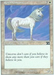 Regal Unicorn