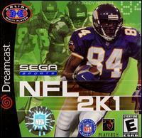 NFL 2K1 Not For Resale Sega Sports