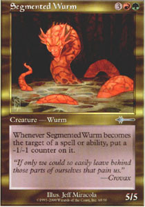 Segmented Wurm