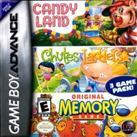 Candy Land / Chutes and Ladders / Original Memory Game