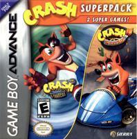 Crash Superpack: Crash Bandicoot 2: N-Tranced / Crash Nitro Kart