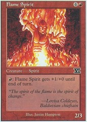 Flame Spirit on Channel Fireball
