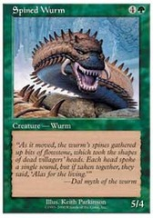 Spined Wurm on Channel Fireball