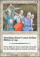 Ardent Militia on Channel Fireball