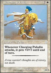 Charging Paladin on Channel Fireball