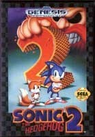 Sonic The Hedgehog 2  (Sega) - Genesis
