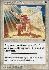 Angelic Blessing on Channel Fireball