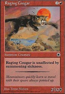 Raging Cougar