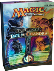 Duel Decks: Jace vs. Chandra (damaged box)