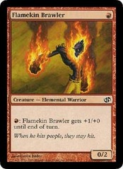 Flamekin Brawler on Channel Fireball