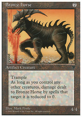 Bronze Horse on Channel Fireball