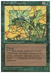Emerald Dragonfly on Channel Fireball