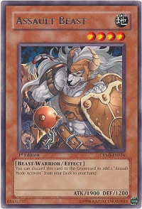 Assault Beast - CRMS-EN024 - Rare - 1st Edition