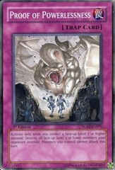 Proof of Powerlessness - RGBT-EN076 - Common - 1st Edition