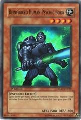 Reinforced Human Psychic Borg - RGBT-EN029 - Super Rare - 1st Edition