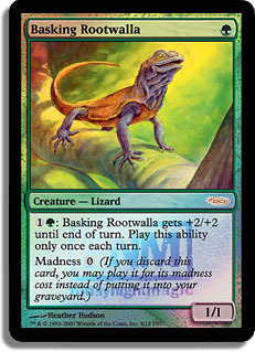 Basking Rootwalla (FNM Foil)