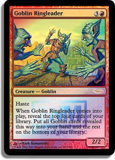 Goblin Ringleader - Foil FNM 2007