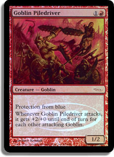 Goblin Piledriver (Judge Foil)