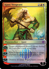 Ajani Vengeant - Shards of Alara Prerelease Promo Foil
