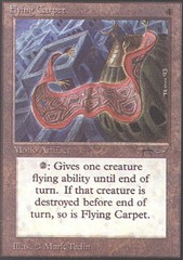 Flying Carpet on Channel Fireball