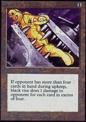 Black Vise on Channel Fireball