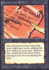 Contract from Below on Channel Fireball