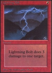 Lightning Bolt (Not Tournament Legal)
