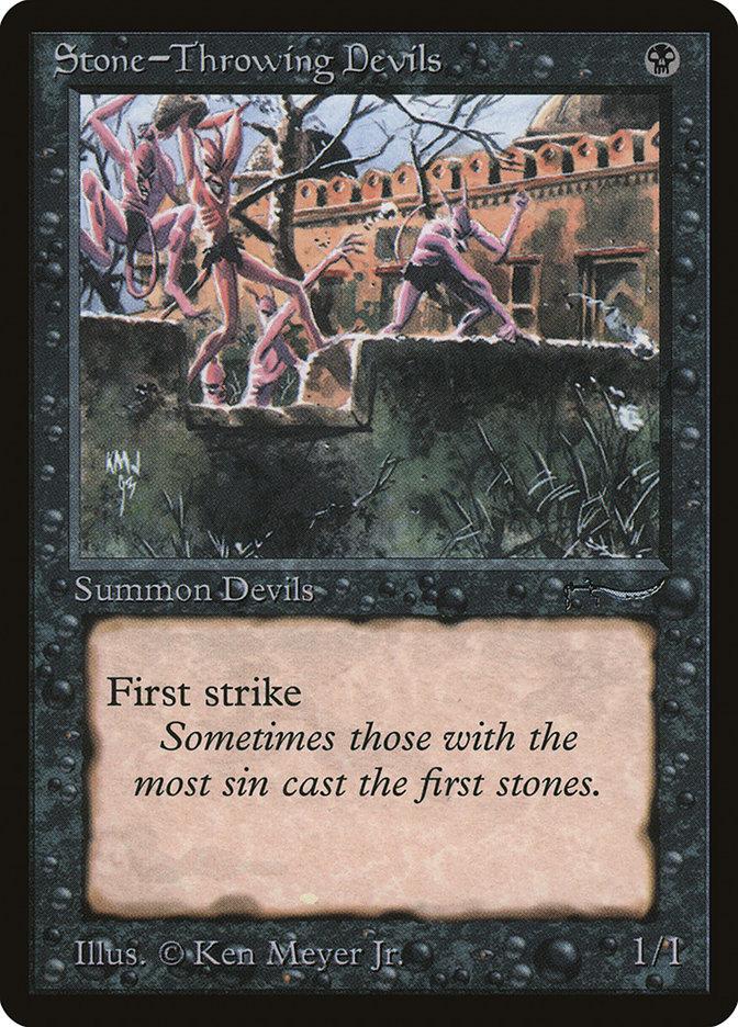 Stone-Throwing Devils (Dark)