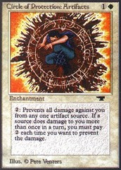 Circle of Protection: Artifacts on Channel Fireball