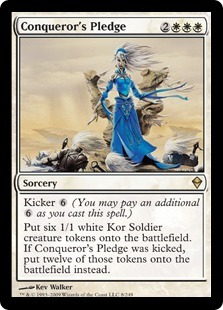 Conquerors Pledge