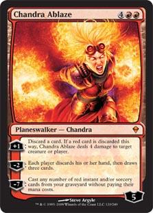 Chandra Ablaze