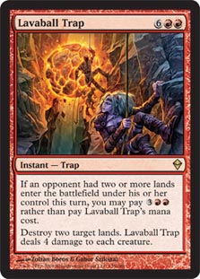 Lavaball Trap