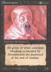 Abomination on Channel Fireball