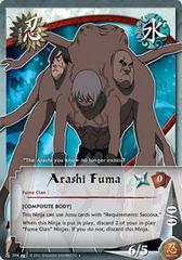 Arashi Fuma - N-304 - Uncommon - 1st Edition