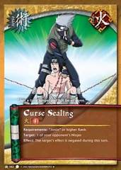 Curse Sealing - J-062 - Uncommon - 1st Edition