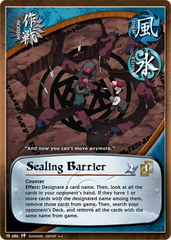 Sealing Barrier - M-486 - Rare - 1st Edition