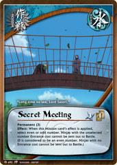 Secret Meeting - M-492 - Common - 1st Edition