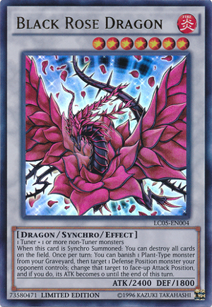 Black Rose Dragon - LC05-EN004 - Ultra Rare - Limited Edition