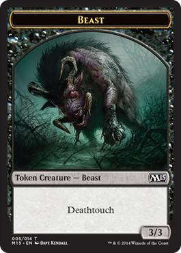 Beast Token (Black)