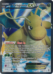 Dragonite-EX - 108/111 - Full Art Ultra Rare