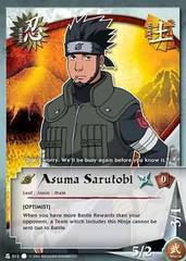 Asuma Sarutobi - N-012 - Common - 1st Edition