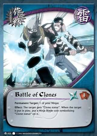 Battle of Clones - M-023 - Common - 1st Edition